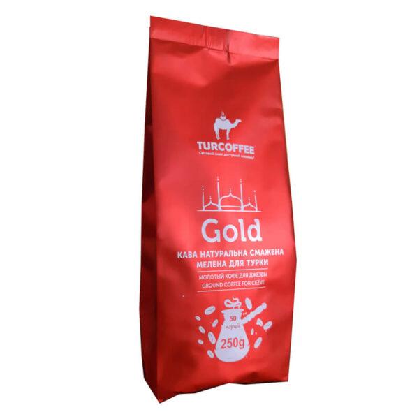 Молотый кофе Gold 250г Turcoffee (туркофе)