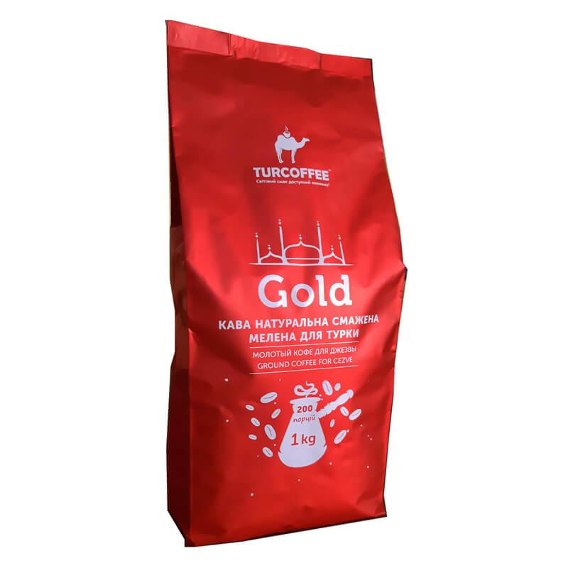 Молотый кофе Gold 1 кг Turcoffee (туркофе)