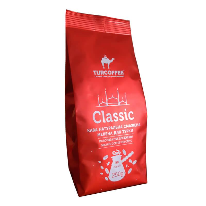 Молотый кофе Classic Turcoffee (туркофе)