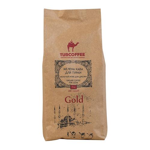 Молотый кофе Gold 1кг Turcoffee