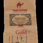 Черный молотый кофе Gold 0,25кг