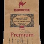 Черный кофе молотый Premium 0,25кг