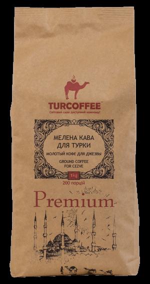 Черный кофе молотый Premium 1кг