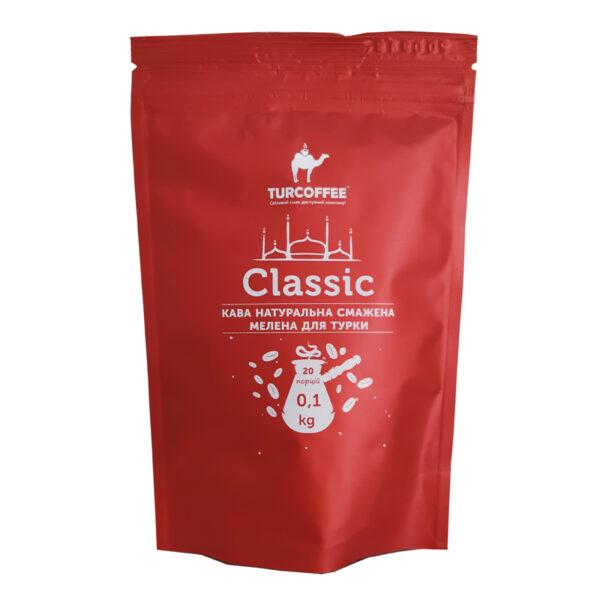 Молотый кофе Classic 100g Turcoffee (туркофе)