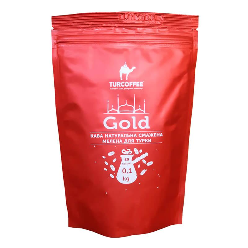 Молотый кофе Gold 100g Turcoffee (туркофе)