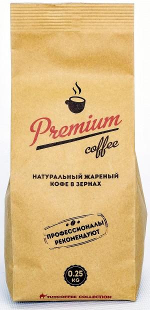Кофе в зернах Premium 0,25