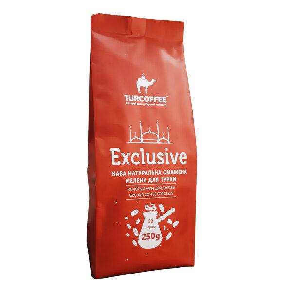 Кофе молотый Exclusive Turcoffee 0.25 кг