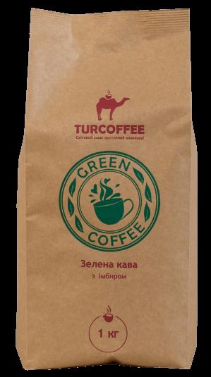 Молотый кофе зеленый с имберем Turcoffee 1 кг