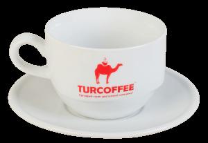 Чашка TURCOFFEE Fregat с блюдцем (100 мл.)
