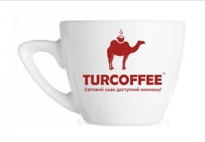Чашка TURCOFFEE с блюдцем (75 мл.) Turcoffee
