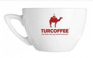 Чашка TURCOFFEE с блюдцем (190 мл.) Turcoffee