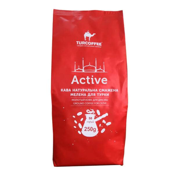 Молотый кофе Active 250г Turcoffee (туркофе)