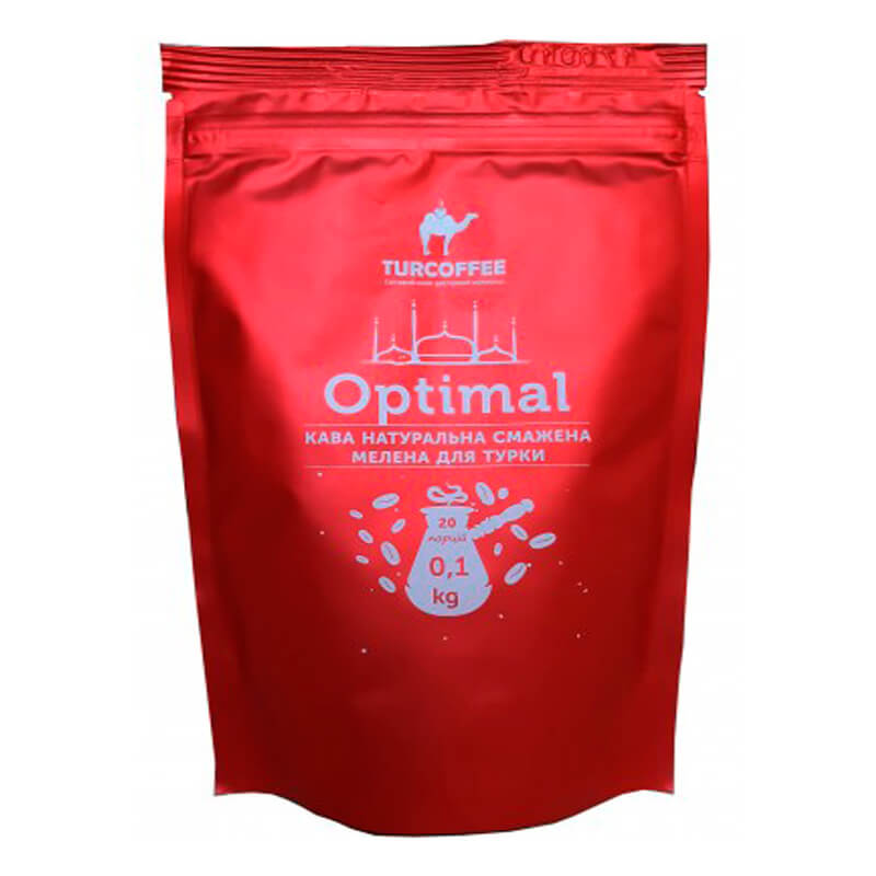 Молотый кофе Optimal 100g Turcoffee (туркофе)