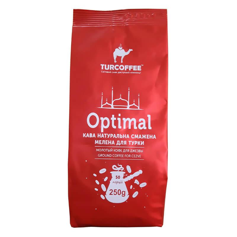 Молотый кофе Optimal 250г Turcoffee (туркофе)