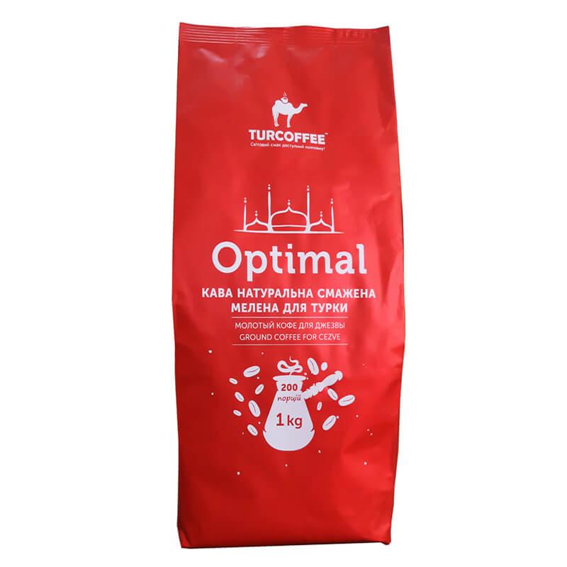 Молотый кофе Optimal 1кг Turcoffee (туркофе)